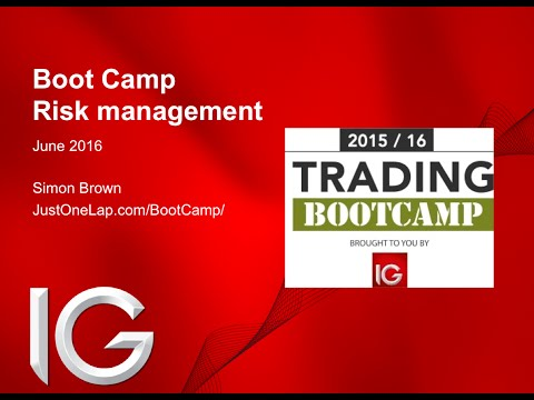 Trading Boot Camp with IG (session #12 - Fundamentals and technicals)