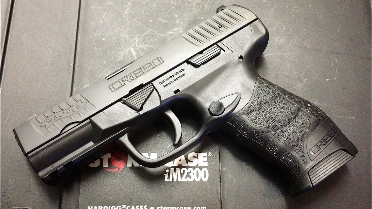 CDNN SPORTS - WALTHER CREED 9MM