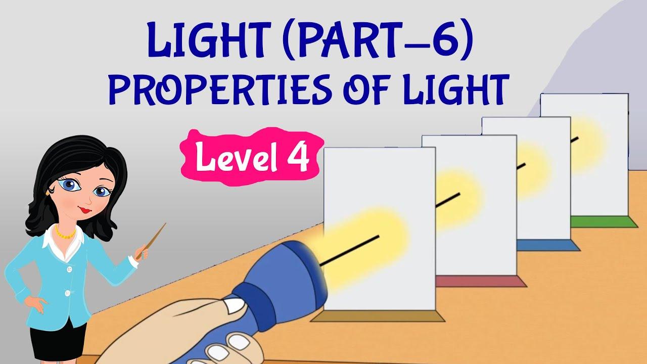 medium resolution of Light(Part-6)   Properties of Light   Science   Grade-4