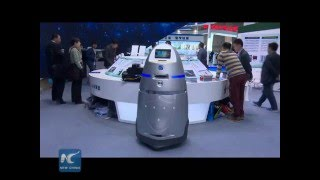 China's 1st security & service robot