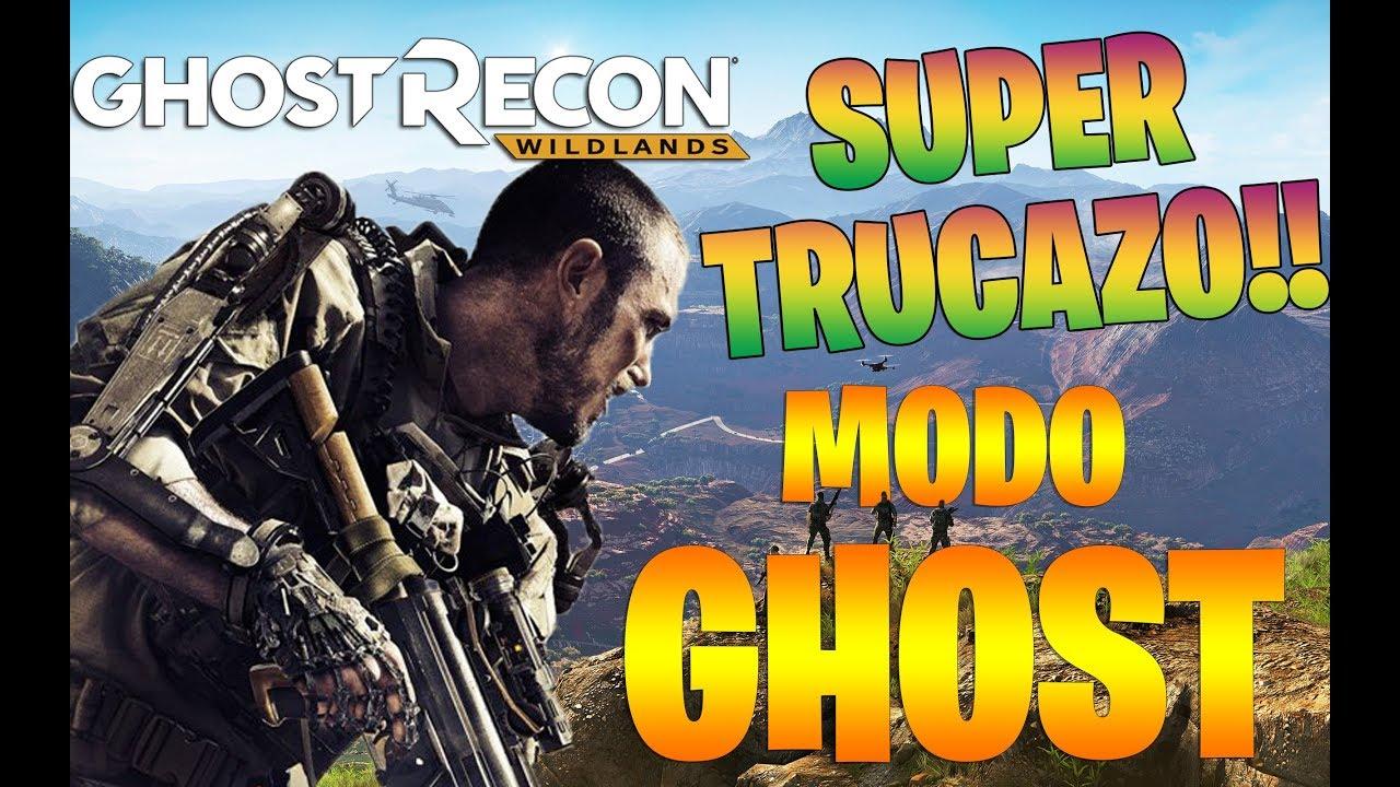 EL SUPER TRUCO DEL MODO GHOST!! PS4 - XBOX Y PC - CONFIRMADO! GHOST RECON WILDLANDS