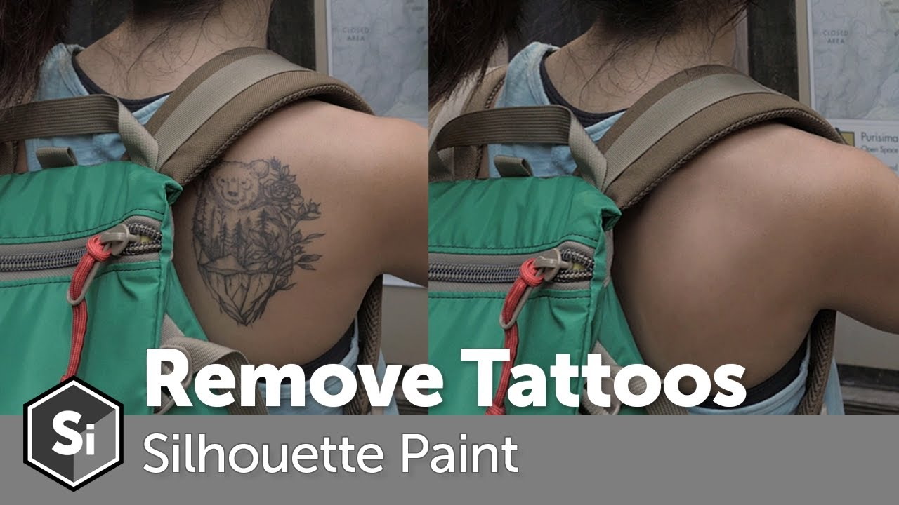 How to Remove a Tattoo in Silhouette Paint and After Effects