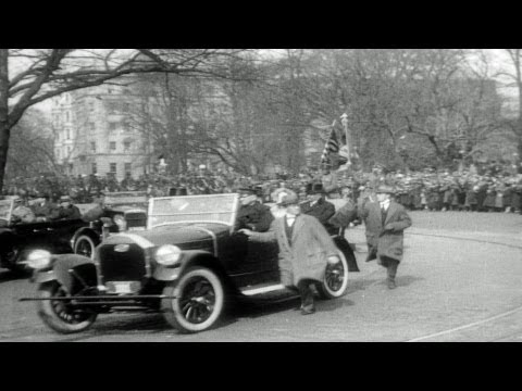 HD Stock Footage Calvin Coolidge 1922-1929 Reel 1, 30th U.S. President