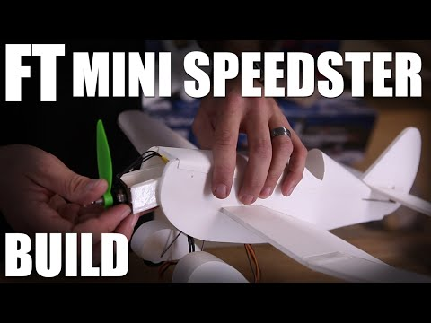 Flite Test | FT Mini Speedster - BUILD (Mighty Minis)