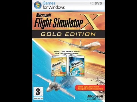 Let's Play Flight Simulator X Gold Edition: Resort Supply Part 1/2 W/Commentary