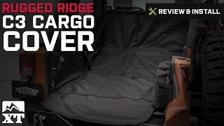 Jeep Wrangler (2007-2017 JK) Rugged Ridge C3 Cargo Cover Review & Install