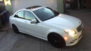 Mercedes-Benz C300 Plasti Dip Wheels