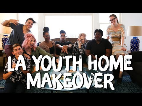 Cozy Living Room for LA Youth Network | Breaking Beige | Mr.