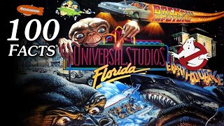100 Facts About Classic 1990s Attractions at Universal Studios Florida