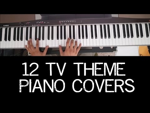 12 TV Theme Piano Covers in Under 3 Minutes