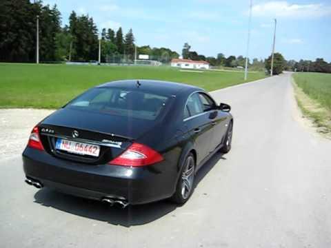 Mercedes Benz CLS 63 AMG Soundcheck + Kickdown_Part 2