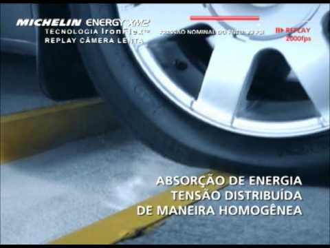 Michelin Energy XM2 - Teste do Buraco