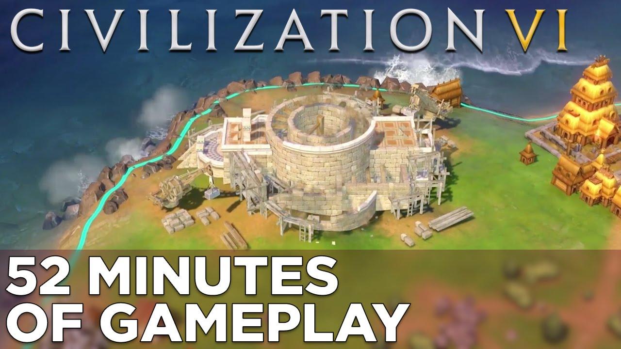 Civilization VI: 52 Minutes of GAMEPLAY