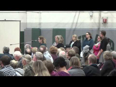 Midland School Board Meeting 12-02-15 (Part 1)