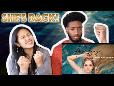AVRIL LAVIGNE - HEAD ABOVE WATER (LYRIC VIDEO) | REACTION