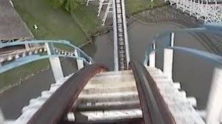 Great American Scream Machine Roller Coaster POV Six Flags Over Georgia