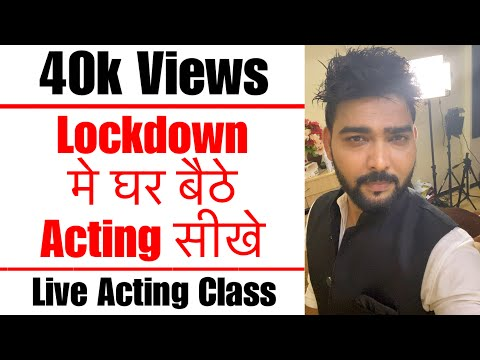 Free Acting Workshop for Subscribers | Day - 1 | Vinay Shakya | Lets Act Actor Studio Mumbai