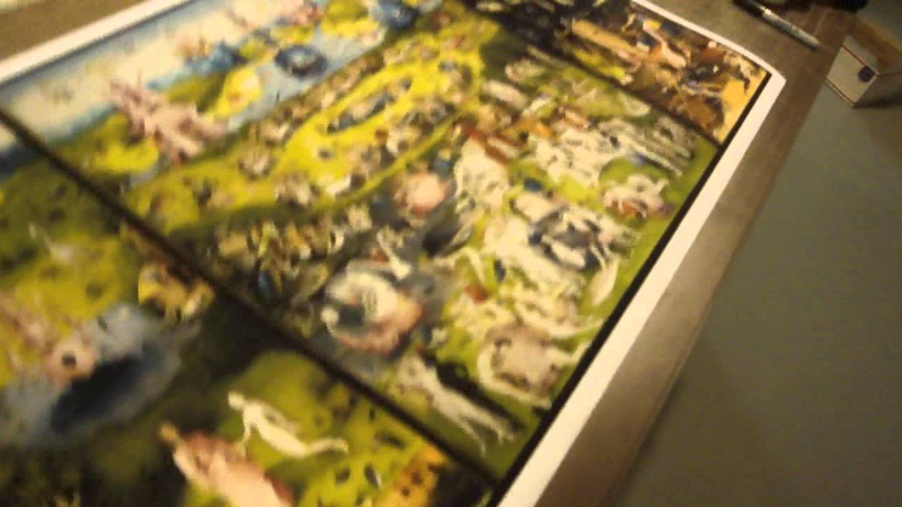 36x21 Garden Of Earthly Delights Hieronymus Bosch Poster