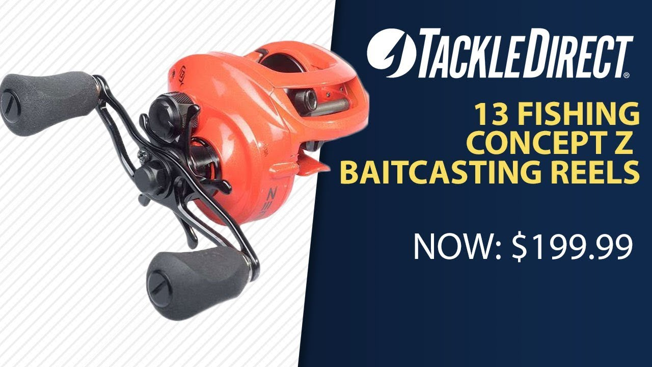 c8f684be9ca 13 Fishing Concept Z Baitcasting Reels at TackleDirect - TackleDirect