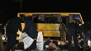 OSCE sends drone to probe Ukraine fatal bus attack