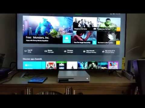 Xbox One S User Interface in 4K First Look