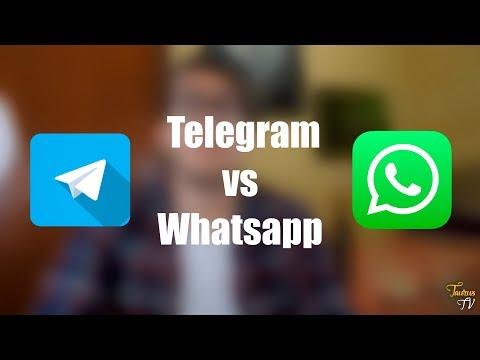 50 RAZONES PARA USAR TELEGRAM VS WHATSAPP | By Taurus TV