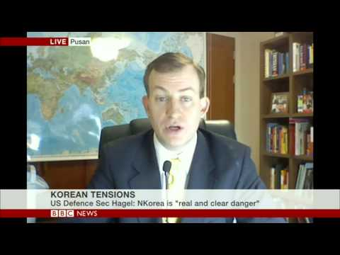 Thumbnail: Robert Kelly, Speaking on BBC World News, April 4 2013 - North Korea (Good)