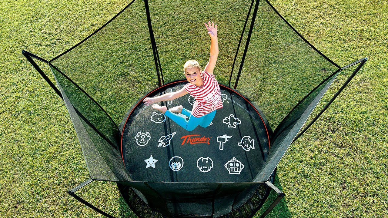 Image result for springless trampoline review""