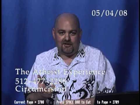 Atheist Experience #551: Circumcision