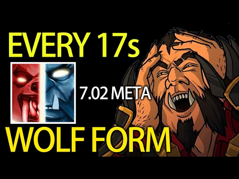 7.02 Crazy Shapeshift Every 17s Carry Lycan by Matumba 9K MMR Dota 2
