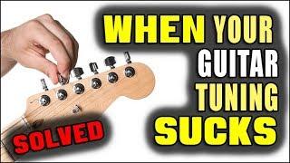 When Your Guitar Tuning Sucks (STUDIO TRICK)