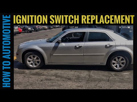 how to replace the ignition switch on a 2005 2010 chrysler Dodge Electronic Ignition Wiring Diagram