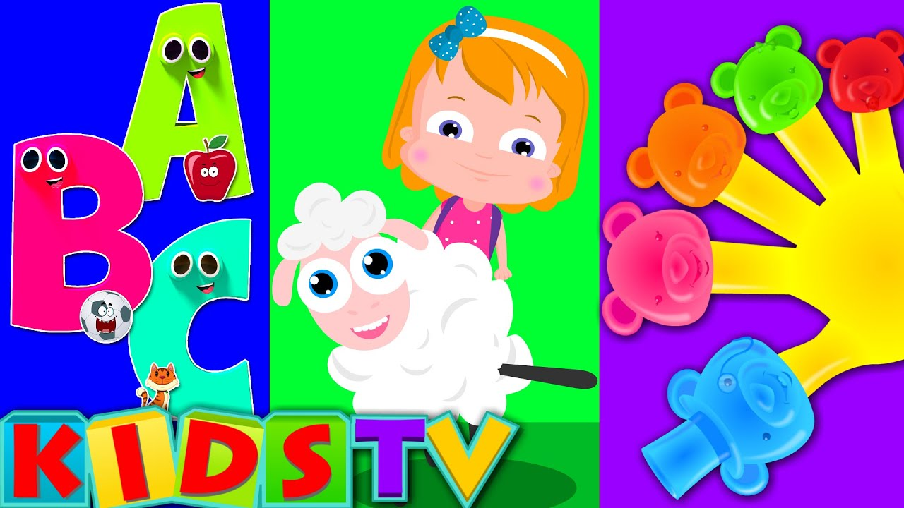Kids Nursery Rhymes Tv Phonics Song Kids Abc Wheels