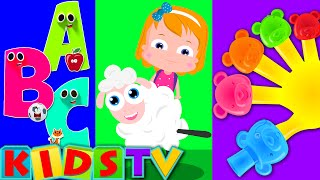 kids nursery rhymes tv | phonics song | kids abc | wheels on the bus | kids tv thumbnail