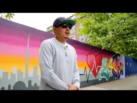 CEIE x SKAM: U of T Engineering street art installation by graffiti artist SKAM