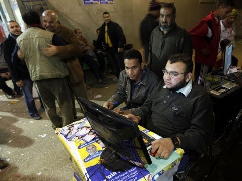 CBS Evening News - Muslim Brotherhood Sees Strong Support In Egypt Election