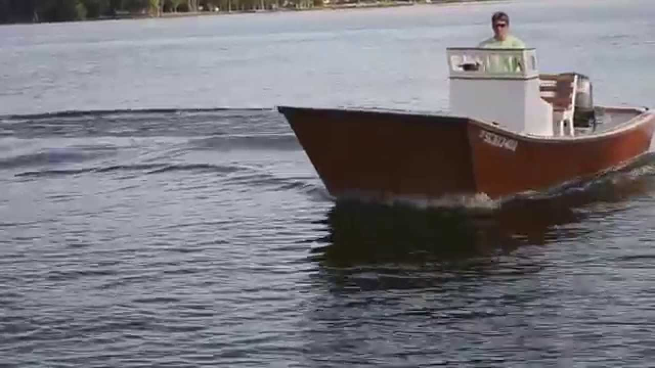 19' Galveston Garvey Dory - YouTube