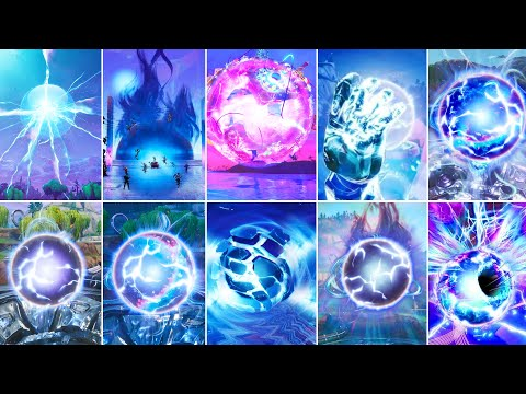 Evolution of the Zero Point - Fortnite Chapter 1 (Season 1) to Chapter 2 (Season 6)