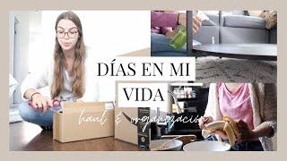(Vlog) Días conmigo en mi apartamento | Abriendo paquetes de Amazon, limpieza y organización