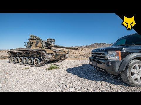 Tank Round vs Land Rover 😳 Richard Ryan