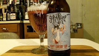 Flying Dog Brewery Supertramp Tart Cherry Ale (4.7%) Abv Djs Brewtube Beer Review #733
