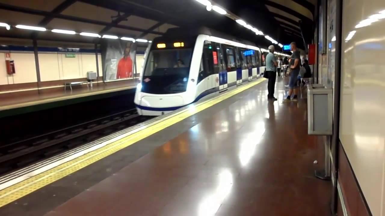 Metro de madrid linea 6 entrando en puerta del angel - Inem puerta del angel ...