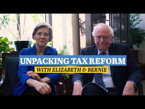 Elizabeth Warren & Bernie Sanders Break Down the GOP Tax Plan