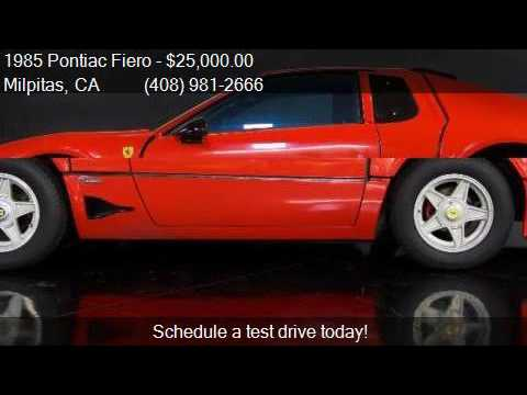 1985 Pontiac Fiero GT 2dr Coupe for sale in Milpitas, CA 950