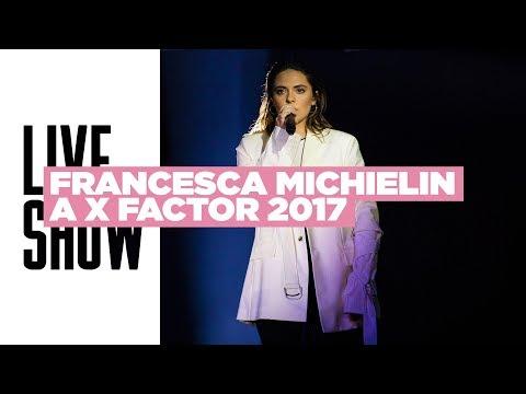 Francesca Michielin ospite a X Factor 2017 - Semifinale