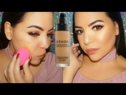 Foundation Friday ! Sephora Collection 10 Hour Wear Perfection Foundation Review !