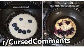 r/CursedComments | Frosty The Soul Consuming Pancake