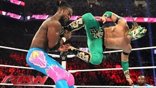 Kalisto vs. Kofi Kingston: Raw, December 28, 2015