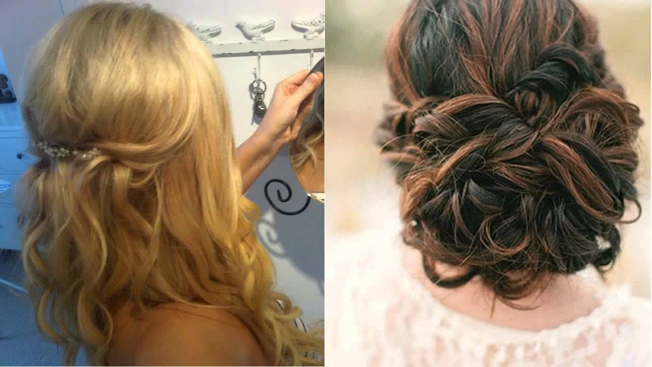 Half Up Half Down Wedding Hairstyles For Medium Length Hair: Wedding Guest Hair Half Up Half Down For Short Hair Salon