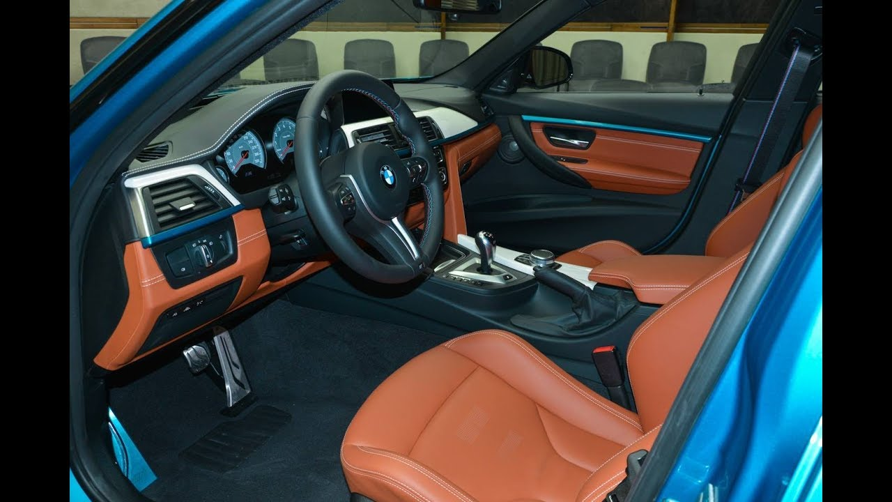 atlantis blue bmw m3 with light brown interior is the king of contrast new car review youtube. Black Bedroom Furniture Sets. Home Design Ideas